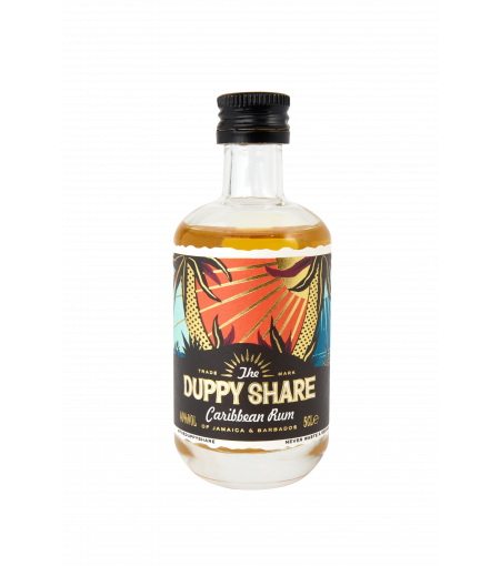 The Duppy Share Aged Caribbean Rum 5cl
