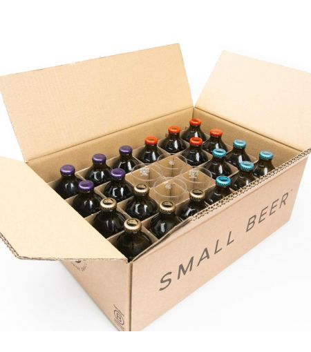 Small Beer Mixed 24-Case incl. Glassware