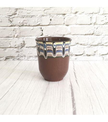 bulgarian ceramic, unique ceramic cup, sustainable homeware, sustainable tableware, eco friendly cup, boho home decor, boho ceramic mug, tea cup, tea mug, coffee ceramic cup, housewarming gift, artisanal tableware, gifts for her, gift uk, gifts for him, m